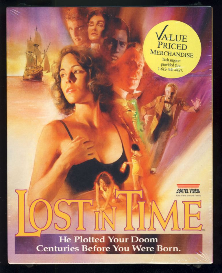 Lost in Time. (PC CD-Rom Version Sealed in Box). Coktel Vision.
