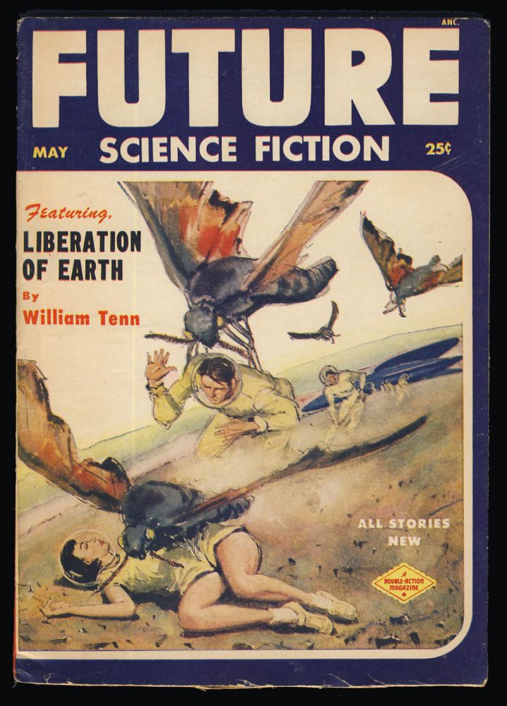 Ecological Onslaught in Future Science Fiction May 1953. Jack Vance.