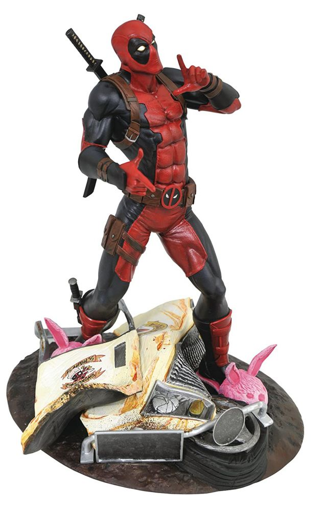 Marvel Gallery Deadpool Taco Truck Edition PVC Diorama Figure. Diamond Select Toys.
