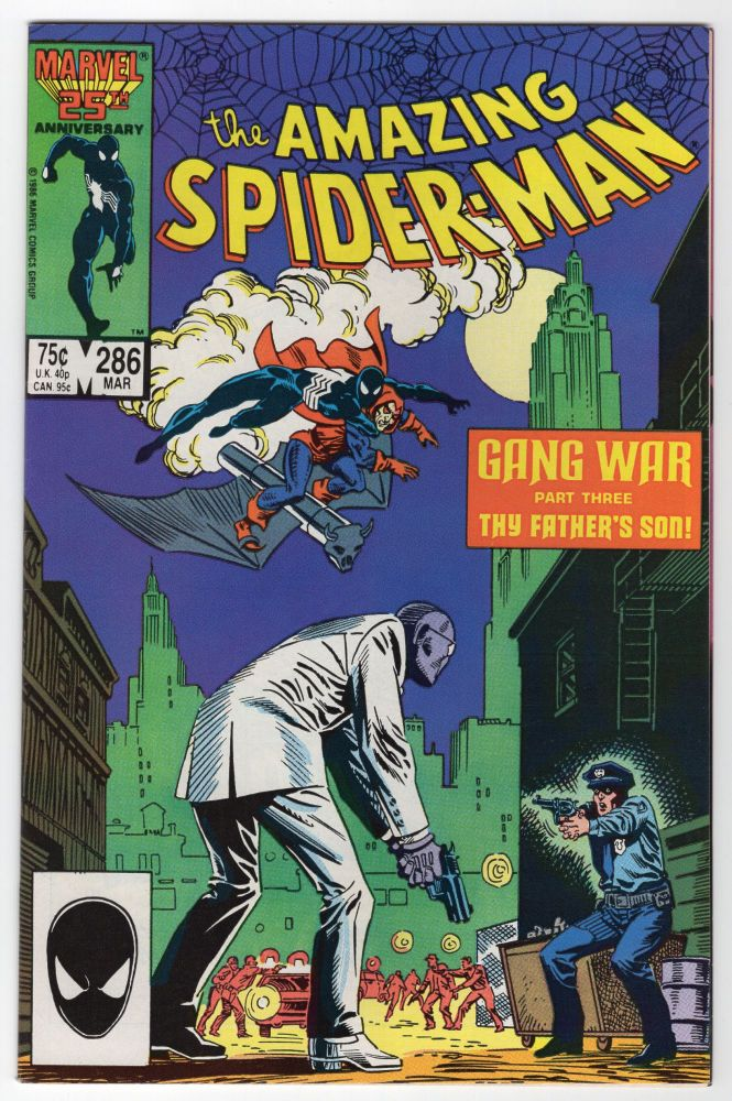 The Amazing Spider-Man #286. Jim Owsley, Alan Kupperberg.