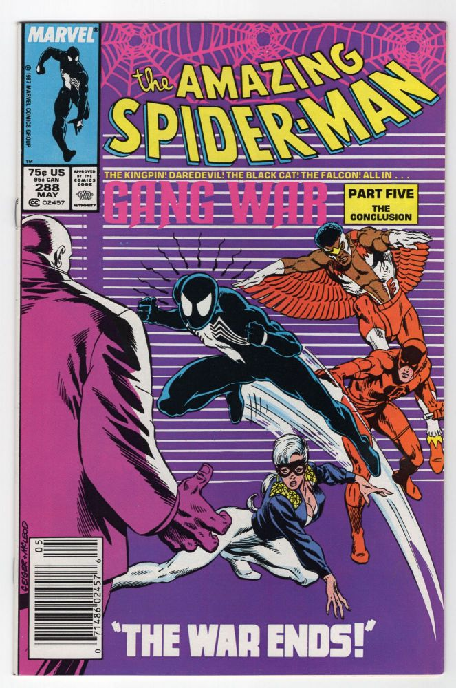 The Amazing Spider-Man #288. (Newsstand Edition). Jim Owsley, Alan Kupperberg.