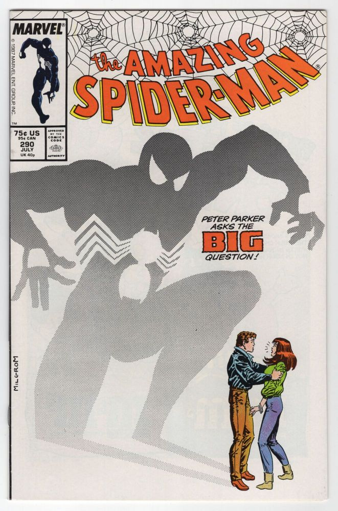 The Amazing Spider-Man #290. David Michelinie, John Romita, Jr.