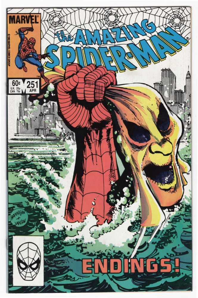 The Amazing Spider-Man #251. Tom DeFalco, Ron Frenz.