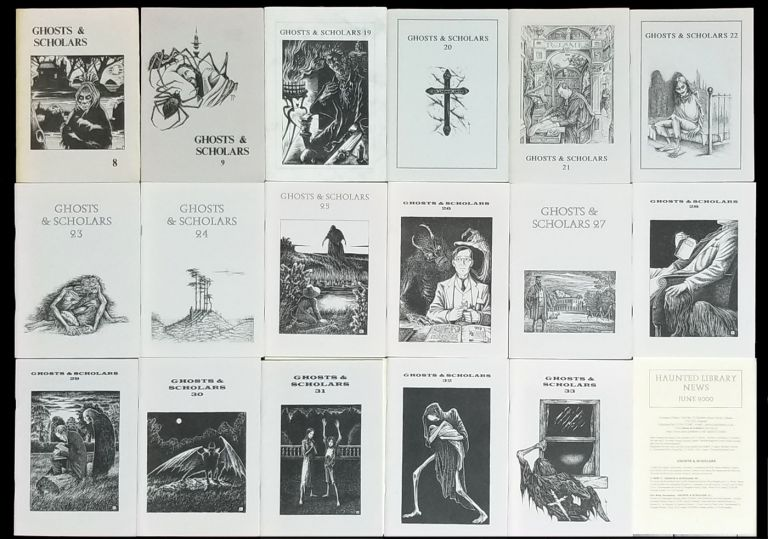 Ghosts & Scholars Seventeen Issue Set. (A Fanzine Dedicated to M. R. James and Ghost Story Fiction). Rosemary Pardoe, ed.