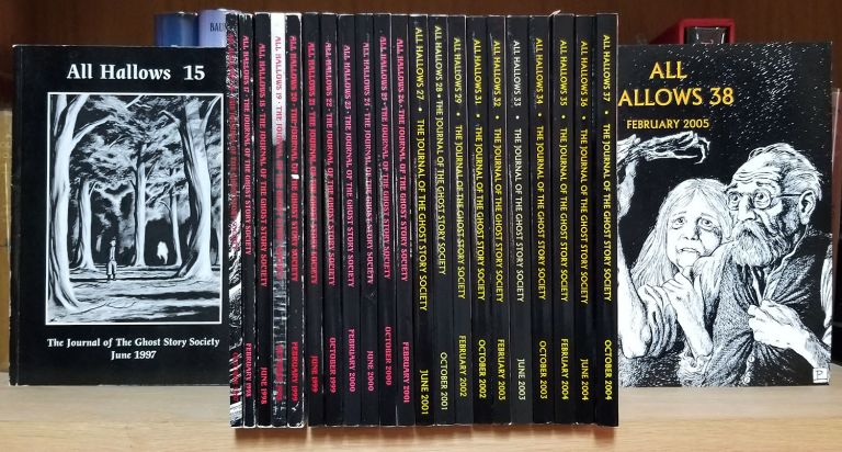 All Hallows: The Journal of the Ghost Story Society Twenty-Three Issue Run. (#15-29, #31-38). Barbara Roden, Christopher Roden, eds.