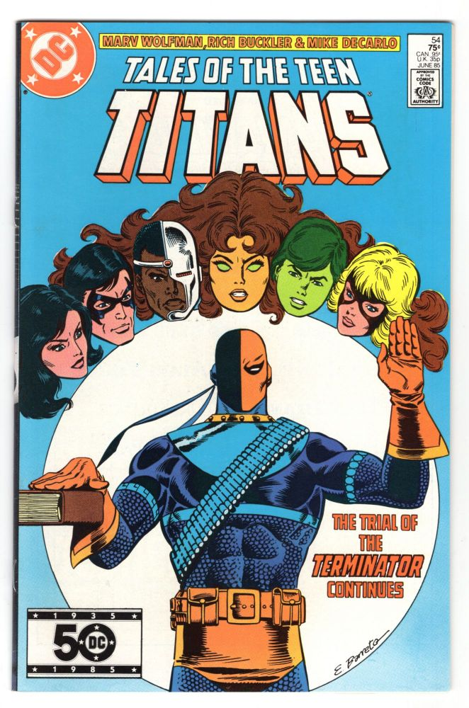 The New Teen Titans #54. Marv Wolfman, Rich Buckler.