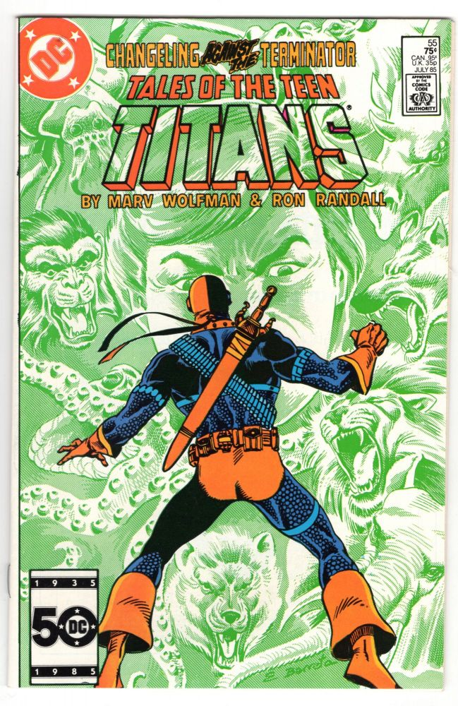 The New Teen Titans #55. Marv Wolfman, Ron Randall.