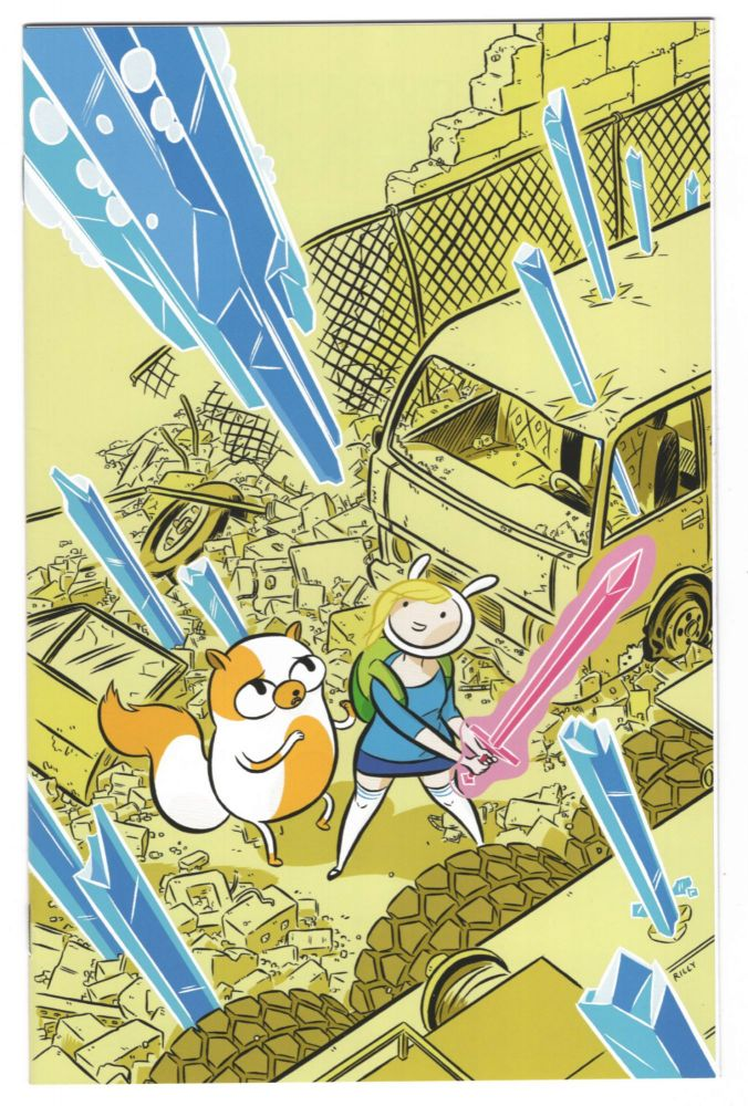 Adventure Time with Fionna and Cake #1 Rilly Variant Cover. Natasha Allegri.