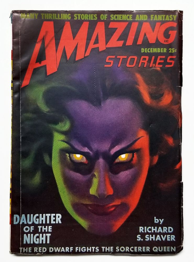 Daughter of the Night in Amazing Stories December 1948. Richard S. Shaver.