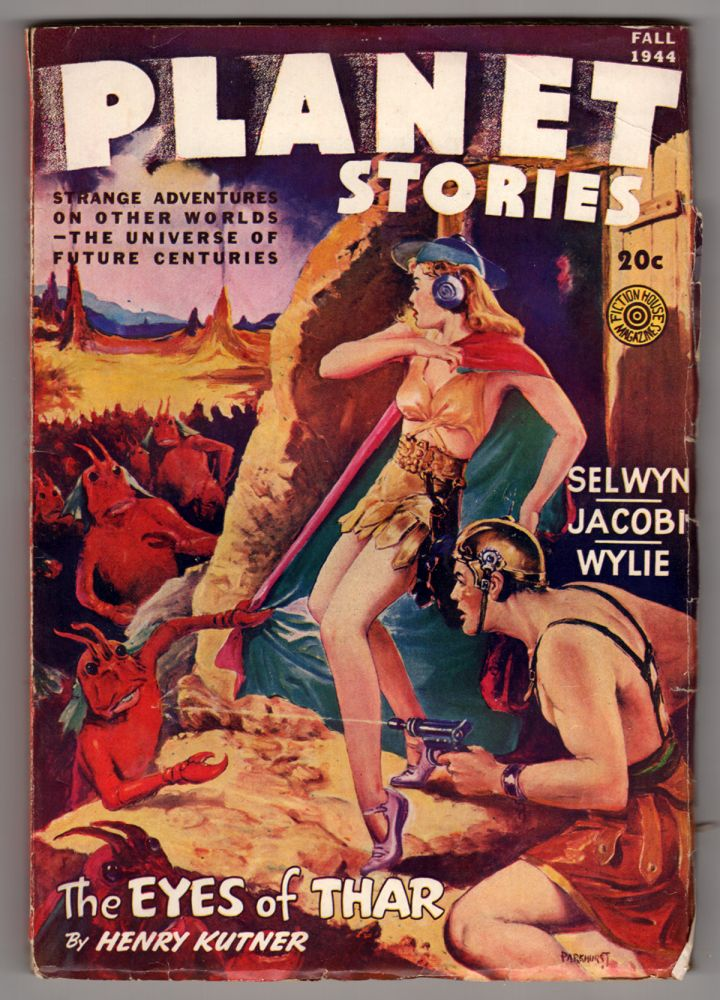 Mr. Meek Plays Polo in Planet Stories Fall 1944. Clifford D. Simak.