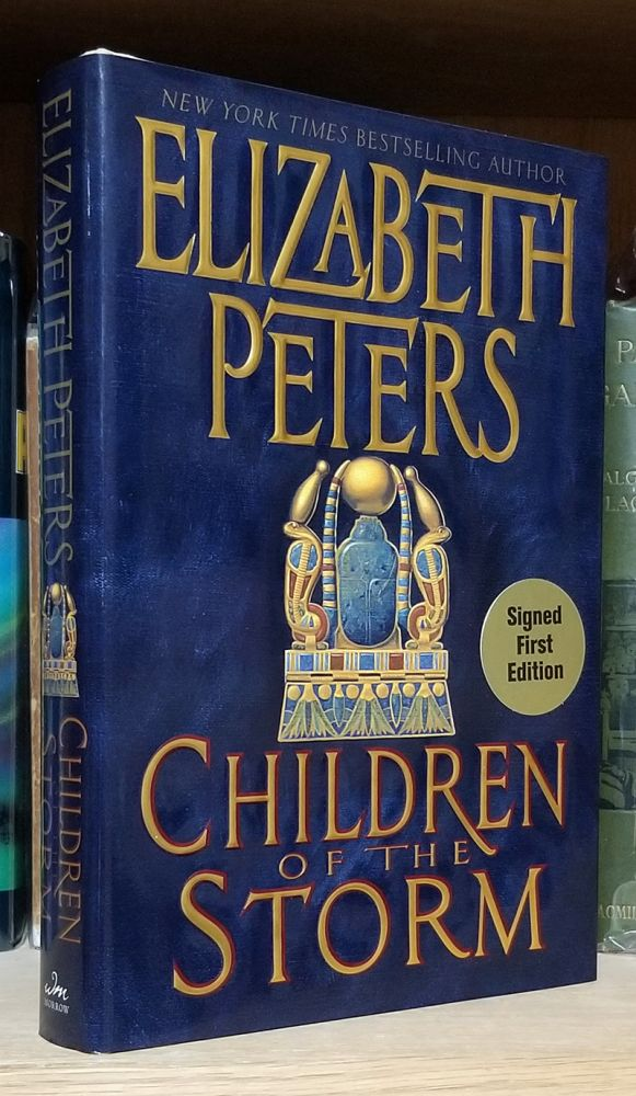 Children of the Storm. (Signed First Edition). Elizabeth Peters.
