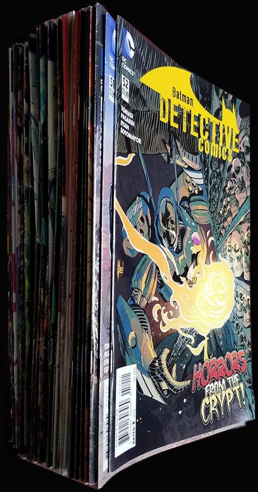 Detective Comics New 52 45 Issue Lot. Authors.