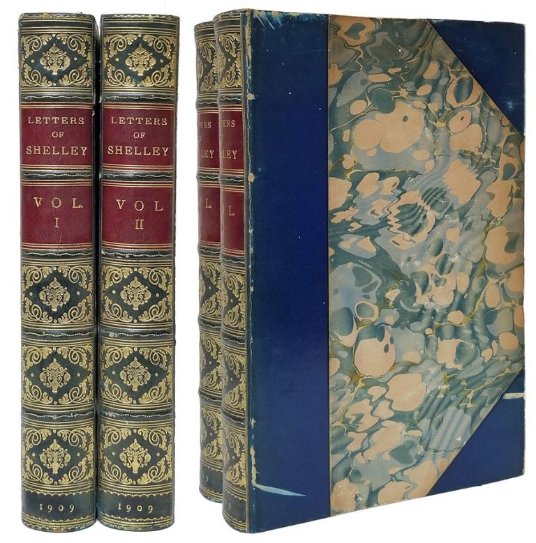 The Letters of Percy Bysshe Shelley. Collected and Edited by Roger Ingpen. With Illustrations. Shelley, sshe, Robert Ingpen, ed.
