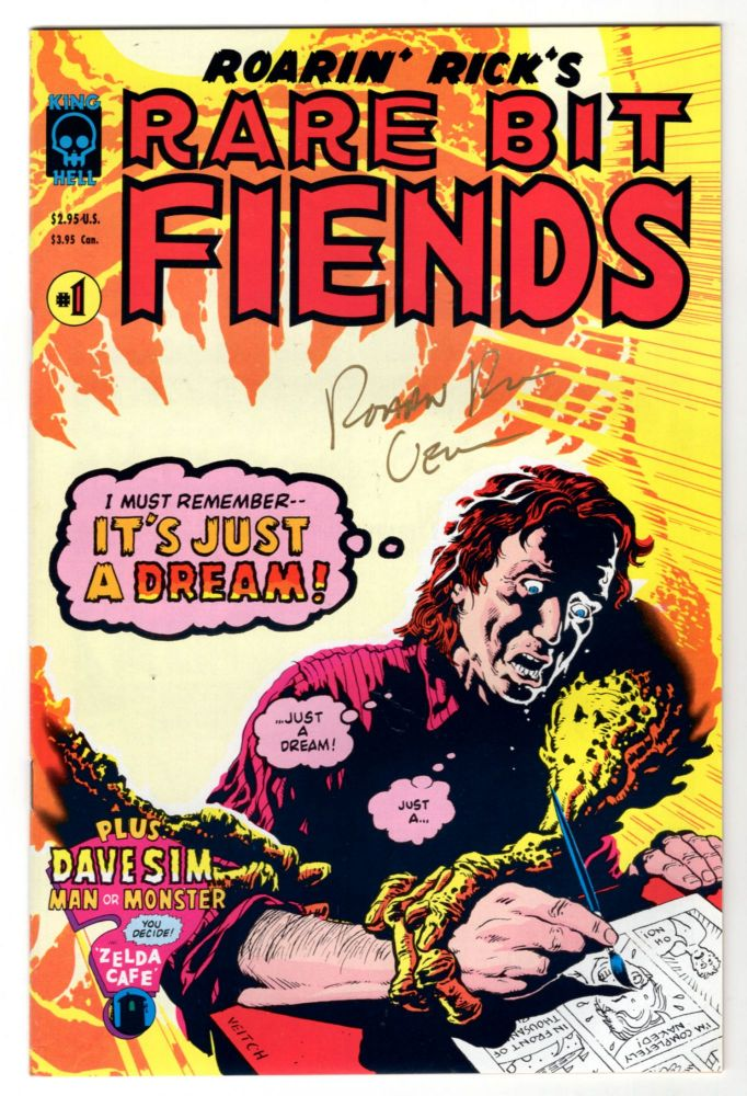Roarin' Rick's Rare Bit Fiends 14 Issue Run. (With Several Signed by Rick Veitch). Rick Veitch, Neil Gaiman, Dave Sim.