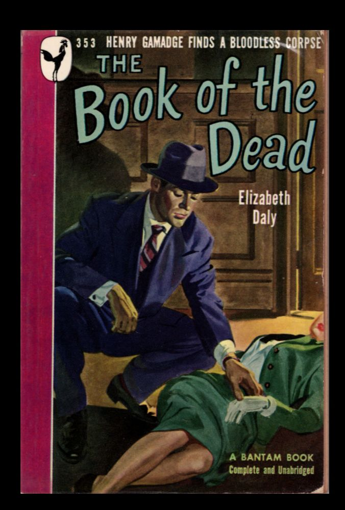 The Book of the Dead. Elizabeth Daly.