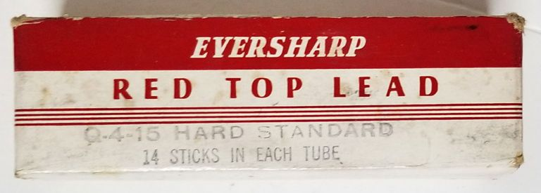 Vintage Eversharp Mechanical Pencil Red Top Leads in the Original Box. Eversharp.