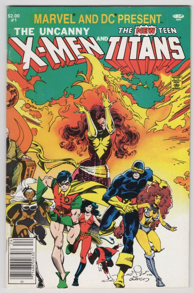 Marvel and DC Present Featuring the Uncanny X-Men and the New Teen Titans Newsstand Edition. Chris Claremont, Walter Simonson.