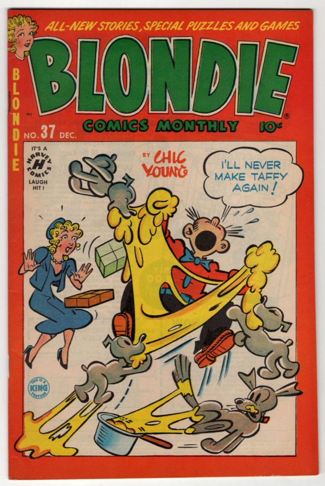 Blondie Comics Monthly No. 37. Chic Young.