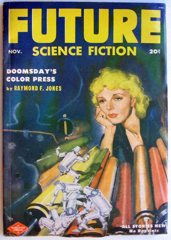 Future Science Fiction November 1952. Robert A. W. Lowndes, ed.