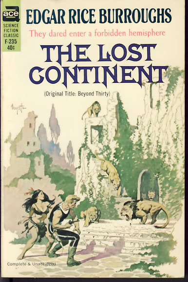 The Lost Continent. Edgar Rice Burroughs.