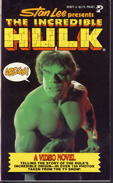 Stan Lee Presents: The Incredible Hulk - A Video Novel. Roy Thomas.