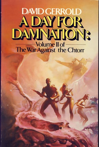 A Day for Damnation. David Gerrold, Jerrold David Friedman.