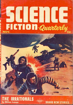 Science Fiction Quarterly November 1953. Robert A. W. Lowndes, ed.