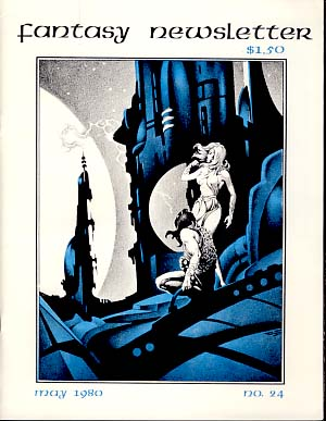 Fantasy Newsletter #24 May 1980. Paul Allen, ed.