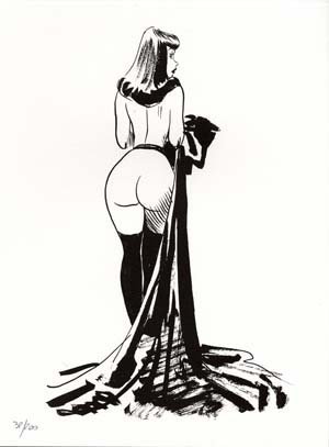 Limited and Numbered Edition Print - #14 from Chiara di notte (Clara). Jordi Bernet.
