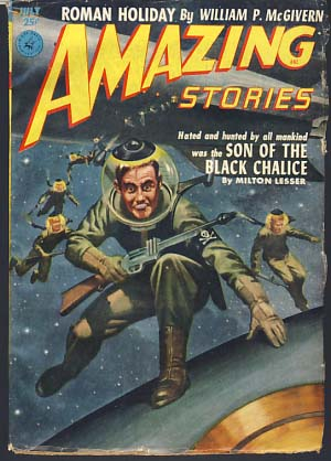 Amazing Stories July 1952. Howard Browne, ed.