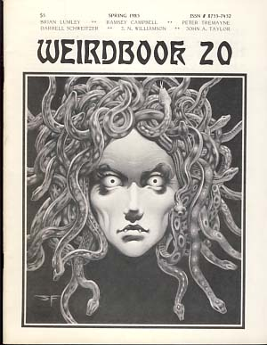 Weirdbook 20. W. Paul Ganley, ed.