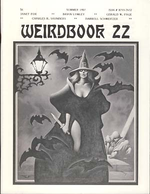 Weirdbook 22. W. Paul Ganley, ed.