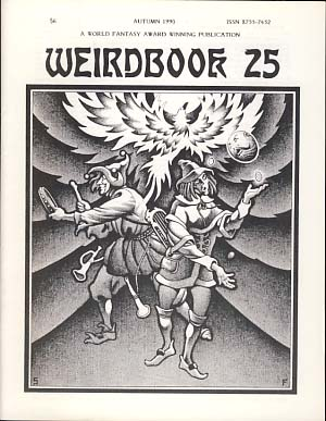 Weirdbook 25. W. Paul Ganley, ed.