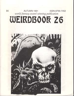 Weirdbook 26. W. Paul Ganley, ed.