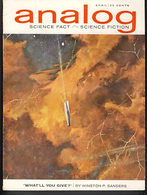 Analog Science Fact Science Fiction April 1963. John W. Campbell, ed, Jr