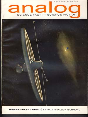 Analog Science Fact Science Fiction October 1963. John W. Campbell, ed, Jr