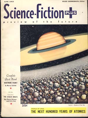 Science-Fiction Plus June 1953 Vol. 1 No. 4. Hugo Gernsback, ed