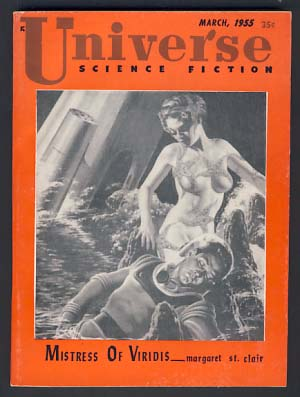 Universe Science Fiction No. 10 March 1955. Raymond Palmer, ed