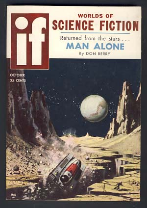 If October 1958 Vol. 8 No. 6. Damon Knight, ed