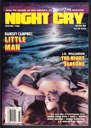 Night Cry Winter 1986 Vol. 2 No. 2. Alan Rodgers, ed
