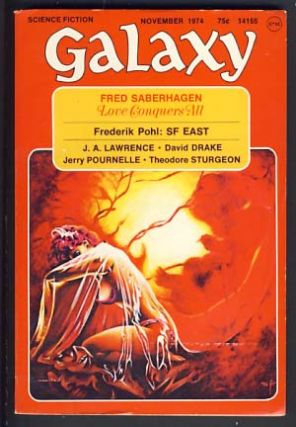 Galaxy November 1974. James Baen, ed