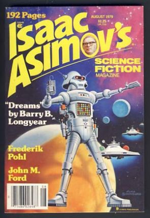 Isaac Asimov's Science Fiction Magazine August 1979 Vol. 3 No. 8. George H. Scithers, ed
