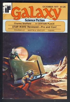 Galaxy October 1977 Vol. 38 No. 8. James Baen, ed