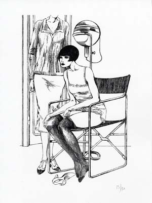 Valentina Limited and Numbered Edition Print #3. Guido Crepax.