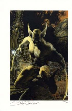 Simone Bianchi Wolverine Signed/Numbered Limited Edition Print. Simone Bianchi.