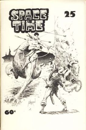 Space and Time #25 July 1974. Gordon Linzner, ed.