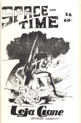 Space and Time #26 September 1974. Gordon Linzner, ed.