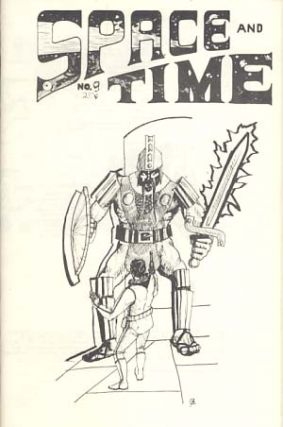 Space and Time #9 July 1970. Gordon Linzner, ed.