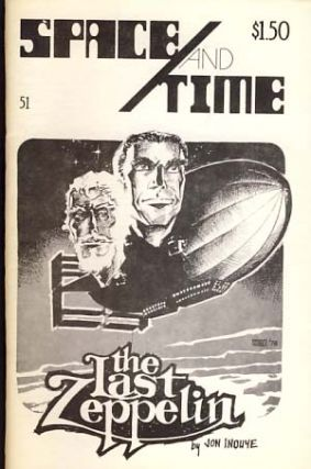 Space and Time #51 April 1979. Gordon Linzner, ed.