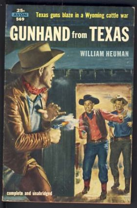 Gunhand from Texas. William Heuman